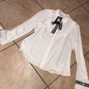Fashion Nova Proper Attire White
